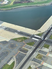 LaGuardia Airport Transportation High Angle View Day Aerial View Outdoors Airplane Airport Runway Airport NYC Photography NYC Aerial Shot LGA Aerialphotography Aviation