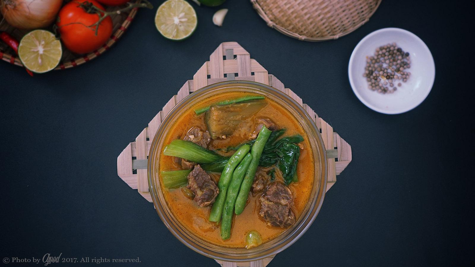 Beef Kare-Kare - Filipino Beef & Peanut Stew