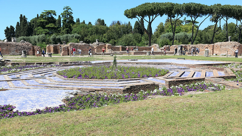 Formal Roman garden