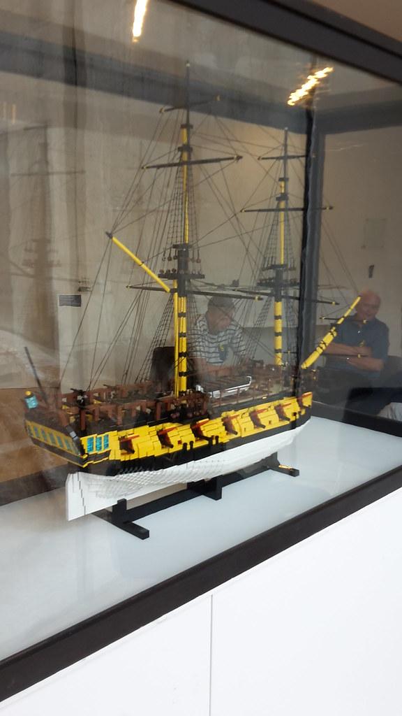 HMS Ontario på M/S Museet for Søfart  Styrbord