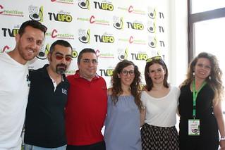 Da sinistra Stefano Capozzo, Vito Laforgia, Gianluca Zaccheo, Annalisa Peschetola, Carmen Pedone e Teresa Sansolino