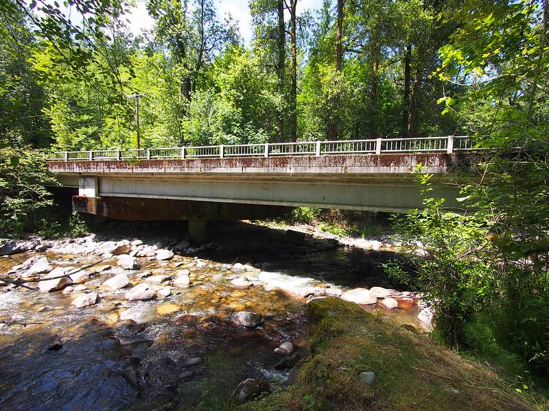 Preston–Fall City Bridge Over the Raging River