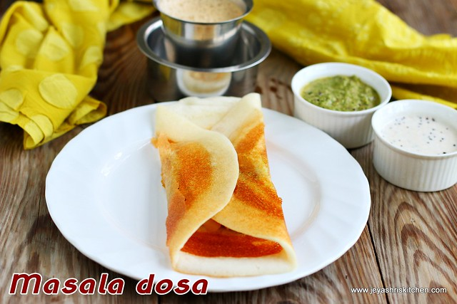 Masala- dosai recipe