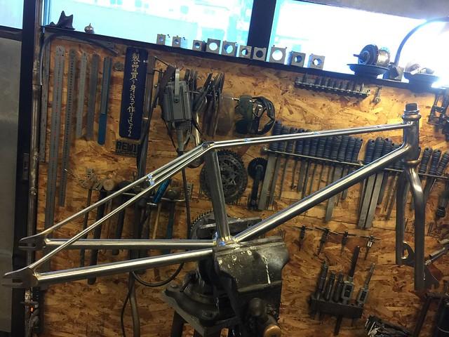 Corten steel BMX