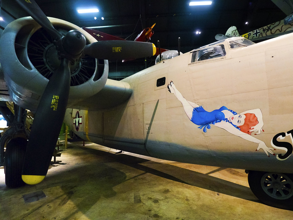 USAF Museum 04-18-2017 - Consolidated B-24D Liberator 7