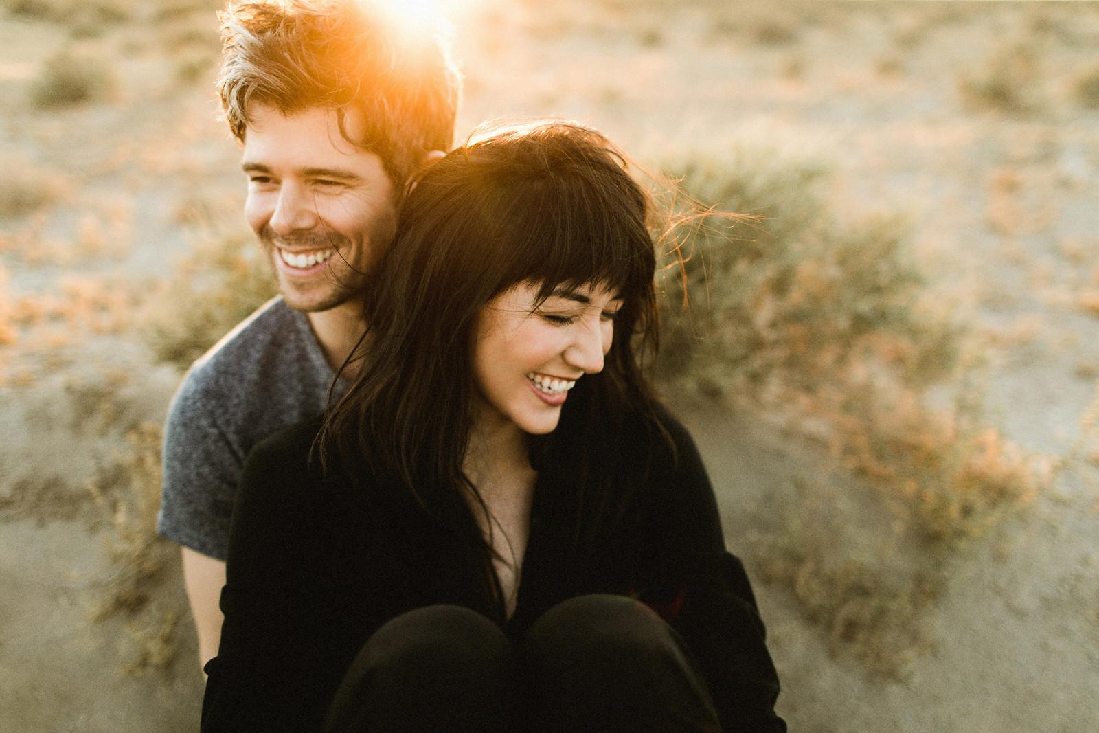 El Mirage Dry Lake Bed Couple Shoot // Ben Sasso