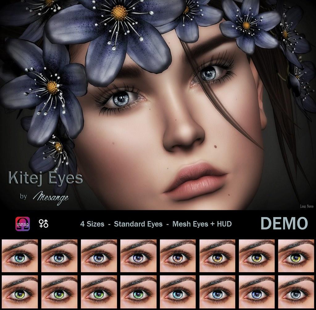 MESANGE - Kitej Eyes for TCF June - SecondLifeHub.com