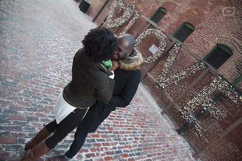 Kerissa and Juavon  - Engagement Photography
