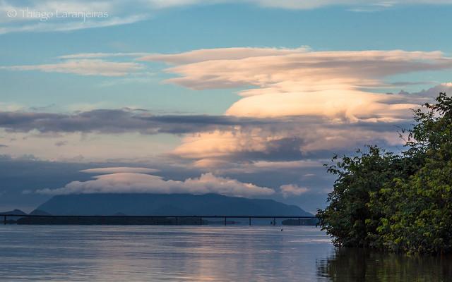 nuvens na serra grande