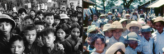Vietnamese kids during the Vietnam War - Trẻ em VN thời chiến tranh trước 1975