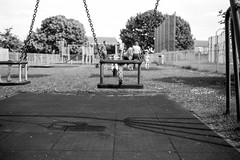 Swing in the park
