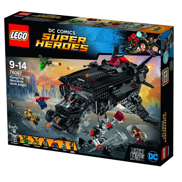 76087 Flying Fox Batmobile Airlift Attack