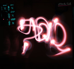 Write with Light - Long Exposure