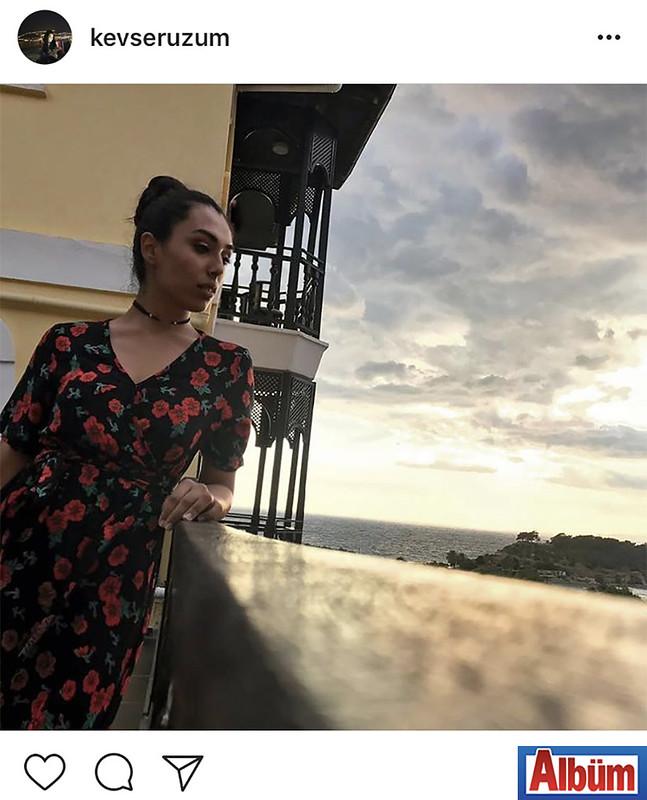 Kevser Üzüm, Bodrum'dan paylaştığı bu fotoğraf ile takipçilerinin beğenisini topladı.