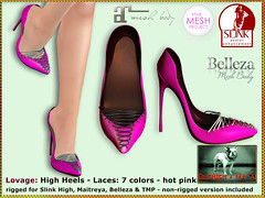 Bliensen - Lovage - High Heels - hot pink