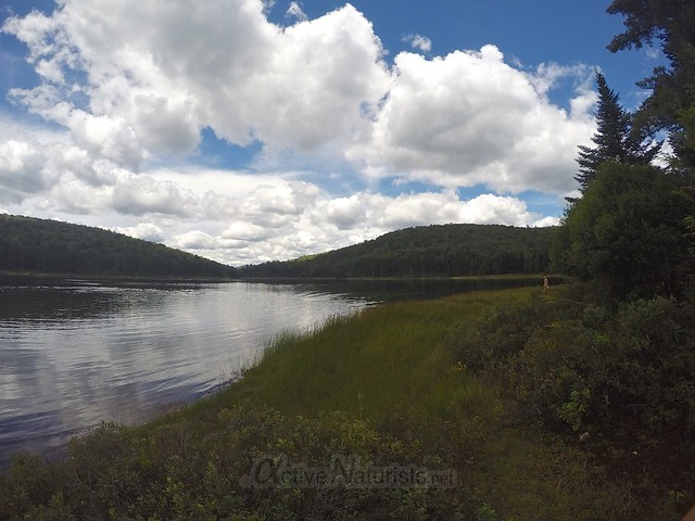 naturist view 0000 G Lake, Adirondacks, New York, USA