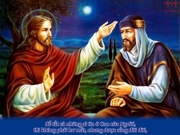 Thánh Kinh bằng hình: Lễ Chúa Ba Ngôi năm A