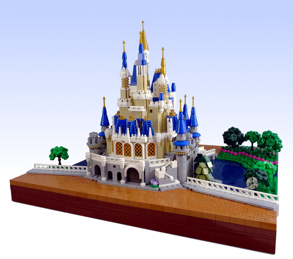 Mini LEGO Cinderella Castle Feels Big! - All About The Bricks