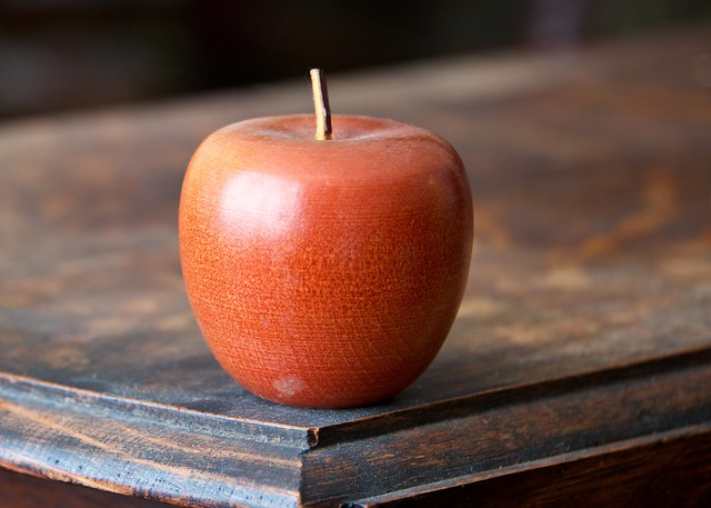The Apples Tasted Like Wood and Dusty Old Leather