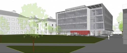 Wentworth Multipurpose Academic Building Renderings