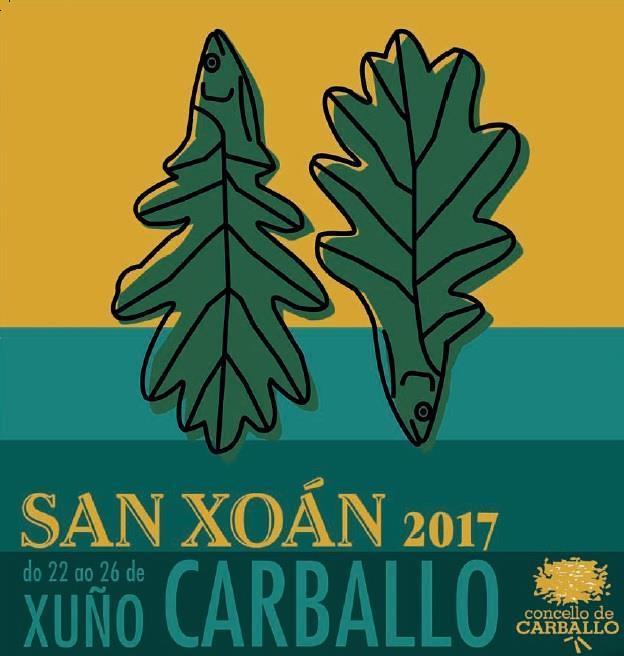 Carballo 2016 - Festas patronais do San Xoán - cartel