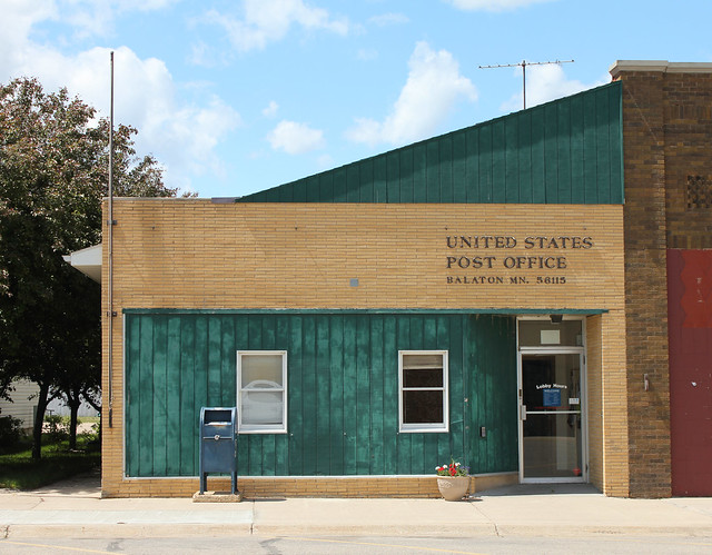 Post Office - Balaton, MN