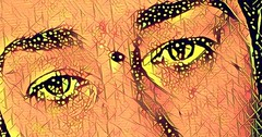 #abstract #eyes #eye #selfie #hippy #hippie #instagram @photobypixie