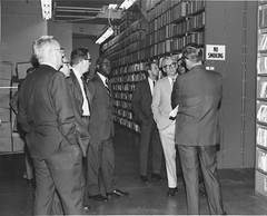 Photograph of Archives Advisory Council Visit to Washington National Records Center
