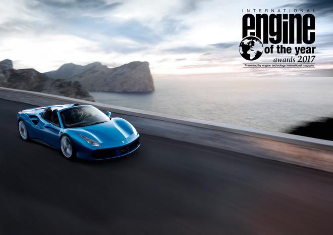 Ferrari 法拉利渦輪增壓V8引擎蟬聯「國際年度引擎大獎」總冠軍