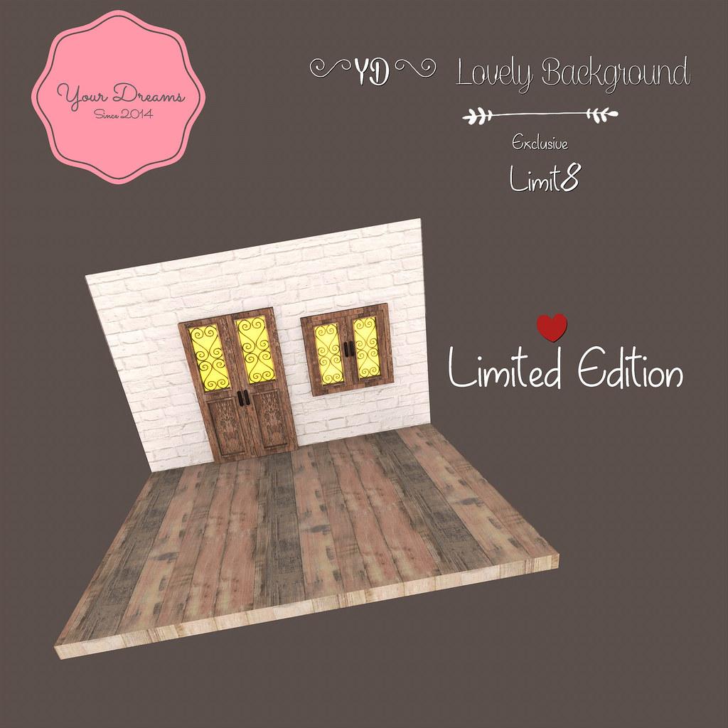{YD} Lovely Background - Gacha - SecondLifeHub.com