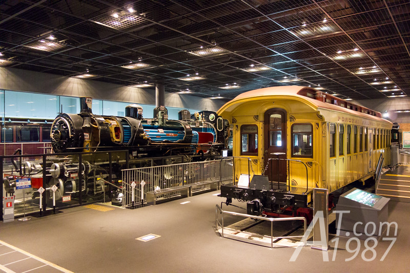 THE RAILWAY MUSEUM - Class 9850 Mallet Steam Locomotive & Kaitakushi Passenger Carriage