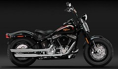 Harley-Davidson FLSTSB 1584 SOFTAIL CROSS BONES 2008 - 11