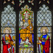 Hundleby, St Mary's church, west window