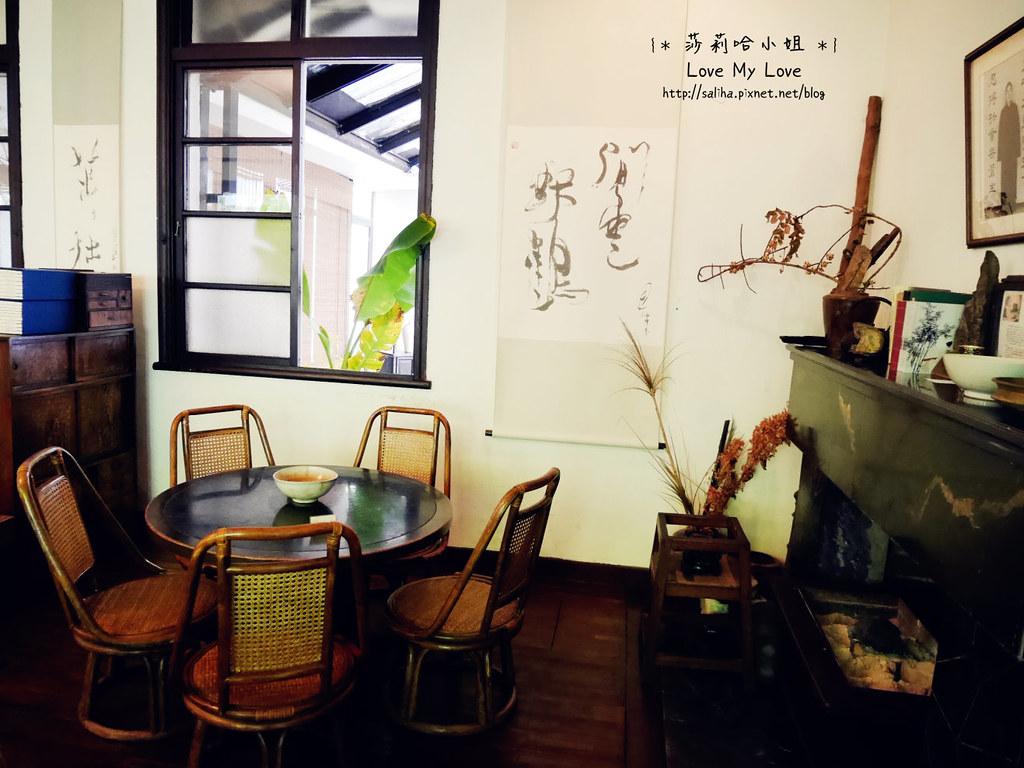 台北大安區公館新生南路附近餐廳推薦紫藤廬泡茶下午茶 (7)