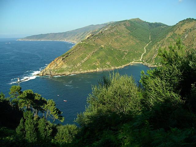 Las laderas costeras del monte Jaizkibel (565 m.)