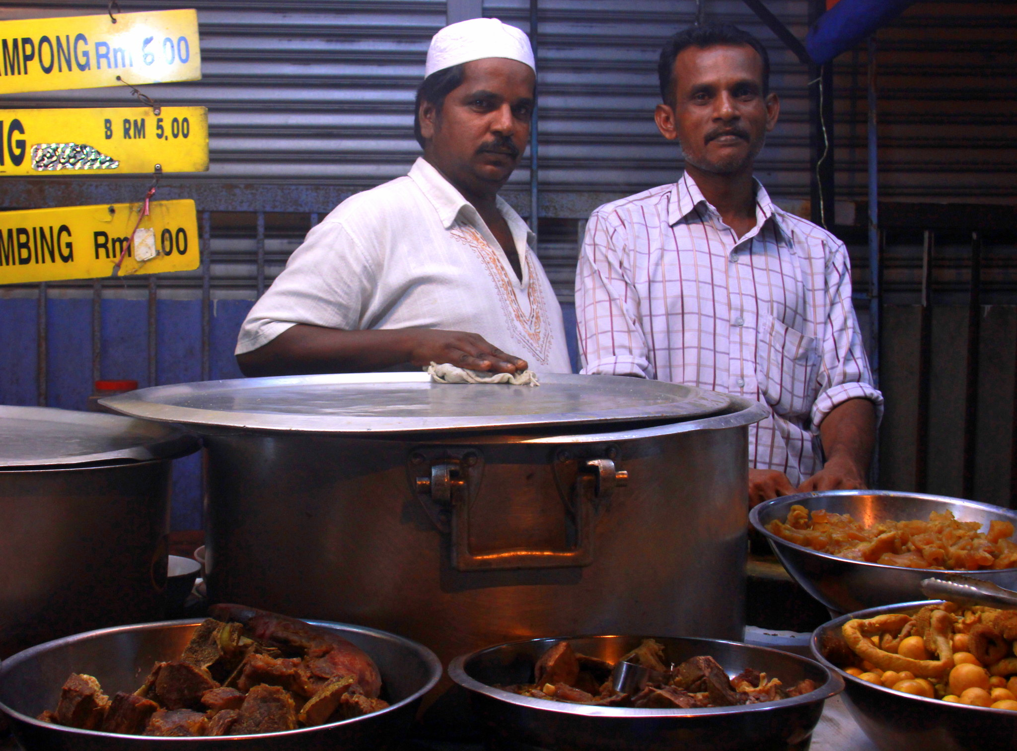 Indian Muslim food in Kuala Lumpur Ramadan Bazaar