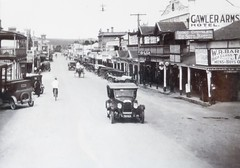 Murray Street 104 and Jacob Street corner [Now Jacob Lane]  c1933