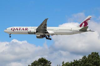 A7-BAI Boeing 777 Qatar