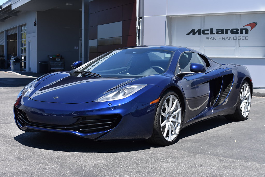 2014 blue mp4-12c spider 3341 | mclaren san francisco | flickr
