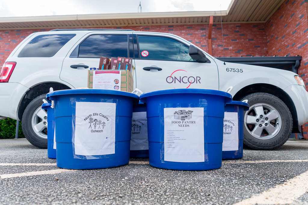 Oncor-Food Drive-North Ellis County-3