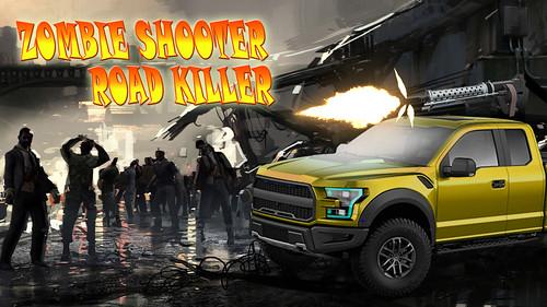 Zombie Car Smash Road killer