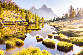 A morning in the Dolomites