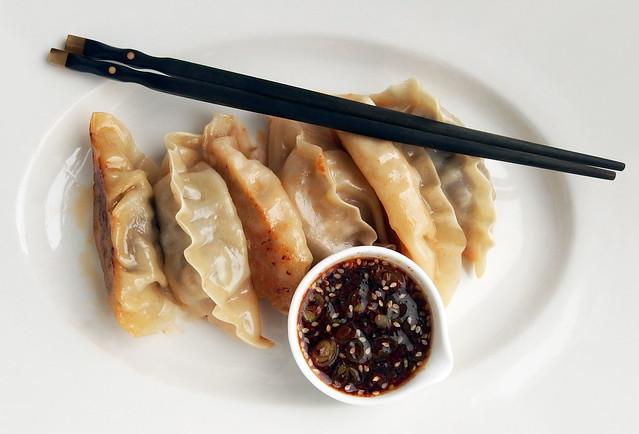 Mandu, Koreaanse dumplings met dipsaus