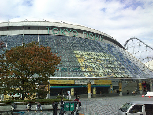 Tokyo Dome by wtnb75t from flickr