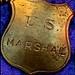 U.S. Marshall's Badge by Chic Bee