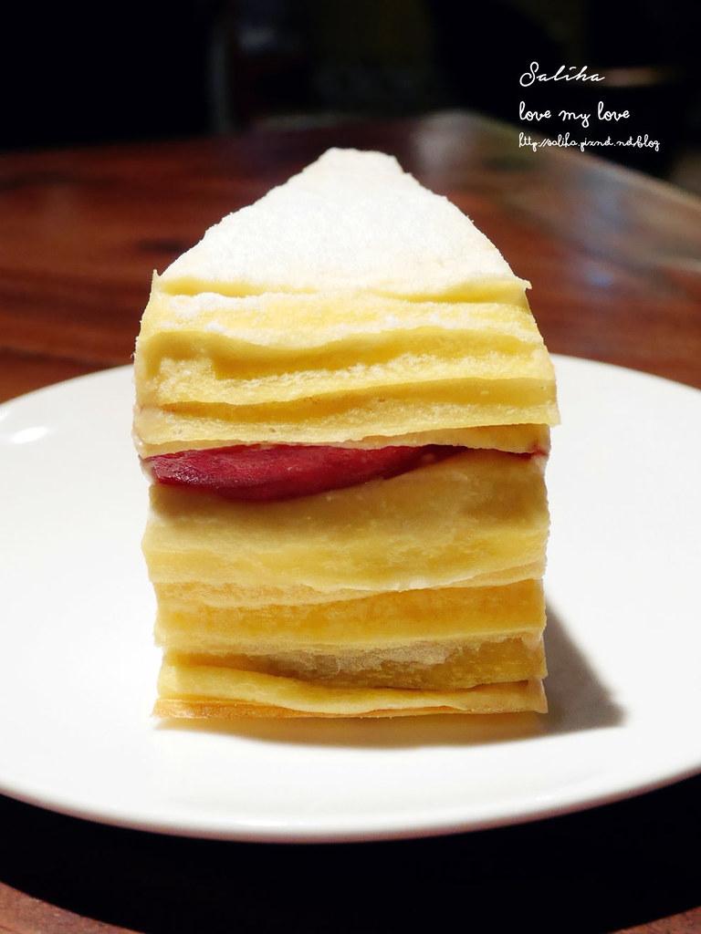 台北東區忠孝敦化站附近餐廳推薦Goodies Cuisine 好米亞水果千層蛋糕