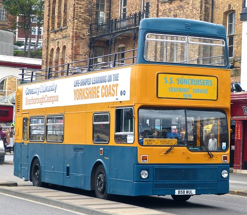 B58 WUL 'Shoreline Suncruisers' MCW Metrobus / MCW on 'Dennis Basford's railsroadsrunways.blogspot.co.uk'