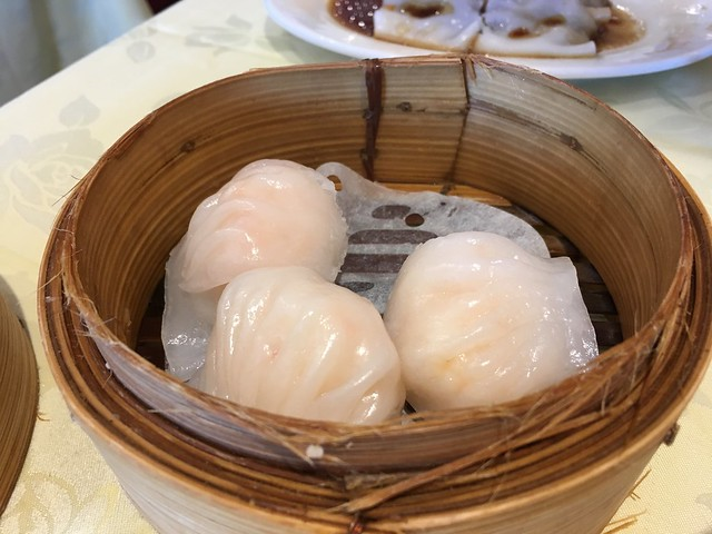 Steamed shrimp dumplings - Dim Sum King Seafood Restaurant