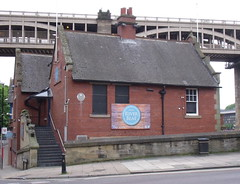Photo of River Police, Newcastle grey plaque