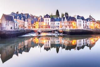 Dawn in Auray, Bretagne